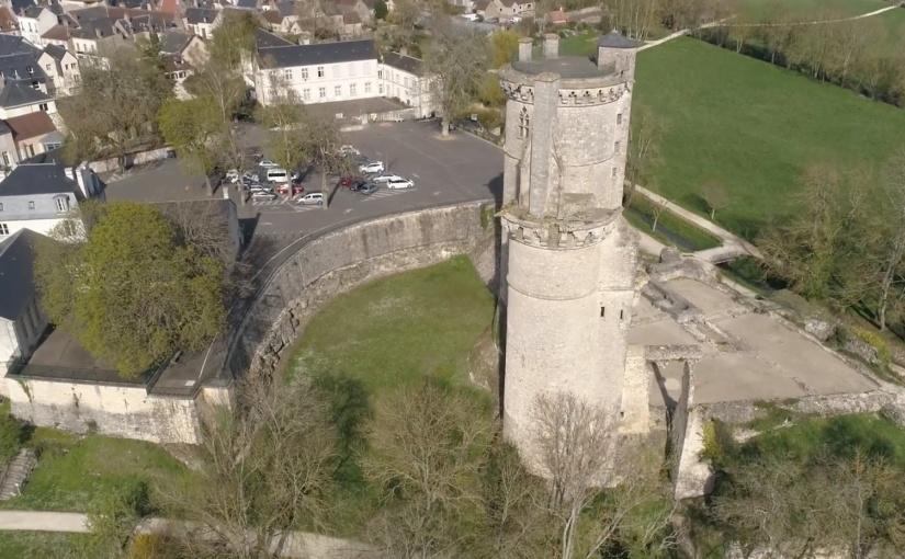 Les Drones d'Eyeteck au service du patrimoine à Mehun-sur-Yèvre